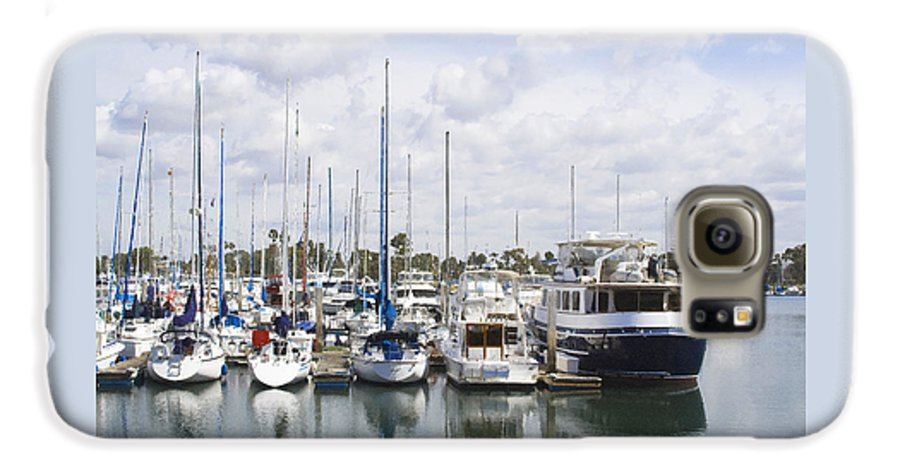 Coronado Galaxy S6 Case featuring the photograph Coronado Boats II by Margie Wildblood