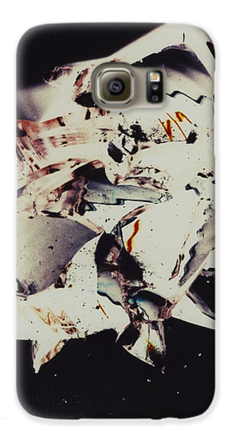 Abstract Galaxy S6 Case featuring the photograph Craft by David Rivas