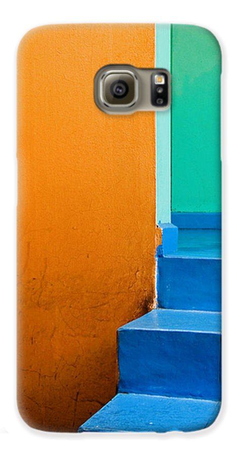 Oaxaca Galaxy S6 Case featuring the photograph Creamsicle by Skip Hunt