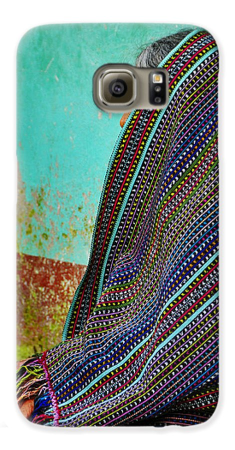 Skip Hunt Galaxy S6 Case featuring the photograph Curandera by Skip Hunt