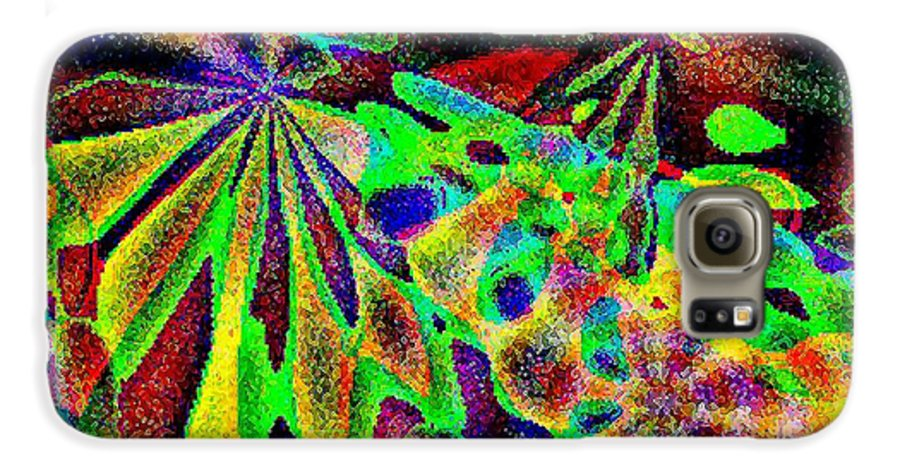 Computer Art Galaxy S6 Case featuring the digital art Damselwing by Dave Martsolf