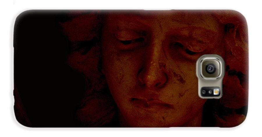 Angel Galaxy S6 Case featuring the photograph Dark Angel by Ruben Flanagan