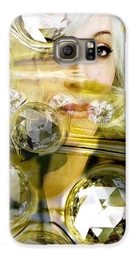 Women Galaxy S6 Case featuring the digital art Darling Diamonds by Seth Weaver
