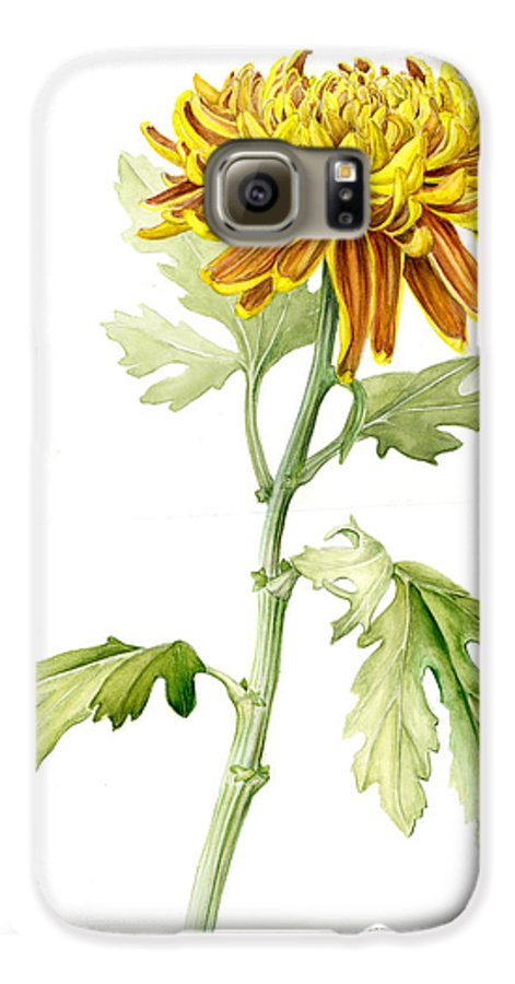 Deco Mum Galaxy S6 Case featuring the painting Deco Mum by Fran Henig