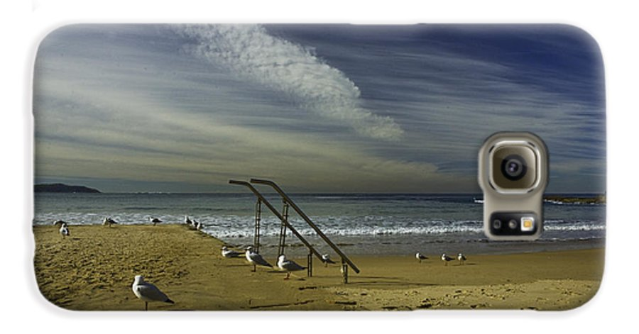 Beach Galaxy S6 Case featuring the photograph Dee Why Beach Sydney by Sheila Smart Fine Art Photography