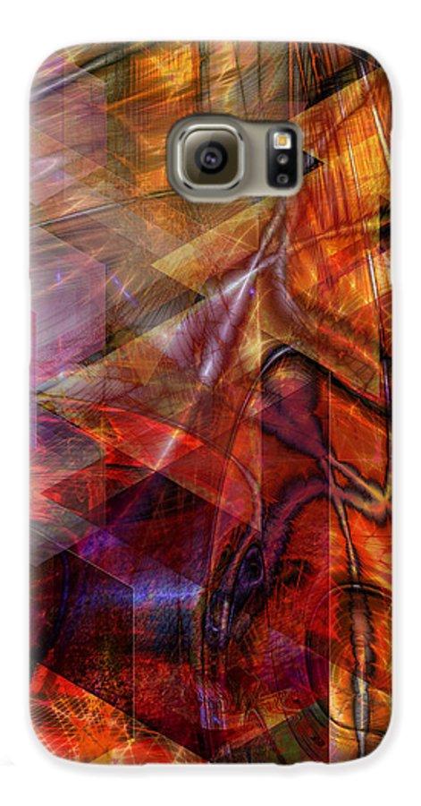 Deguello Sunrise Galaxy S6 Case featuring the digital art Deguello Sunrise by John Beck