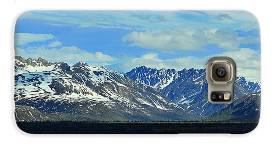 Denali Galaxy S6 Case featuring the photograph Denali Valley by Keith Gondron