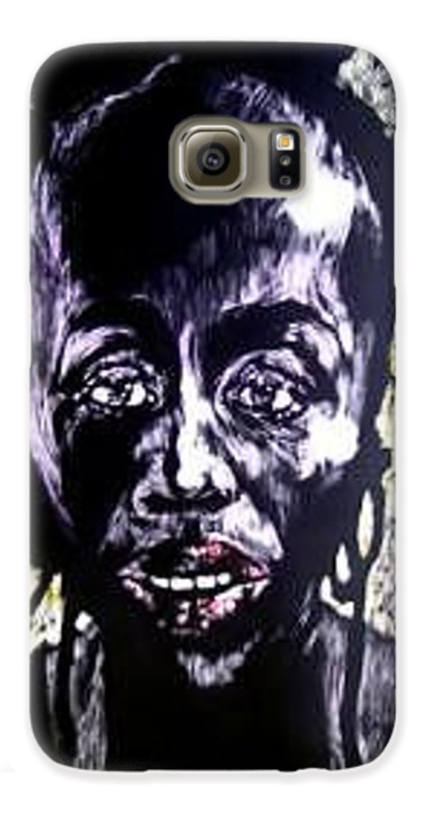 International Womens Day Galaxy S6 Case featuring the mixed media Digital Divide by Chester Elmore