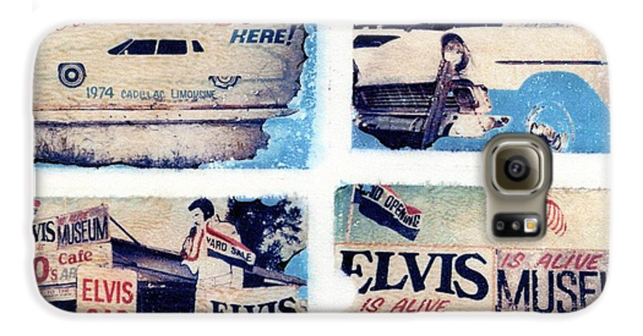 Elvis Galaxy S6 Case featuring the photograph Disgraceland by Jane Linders