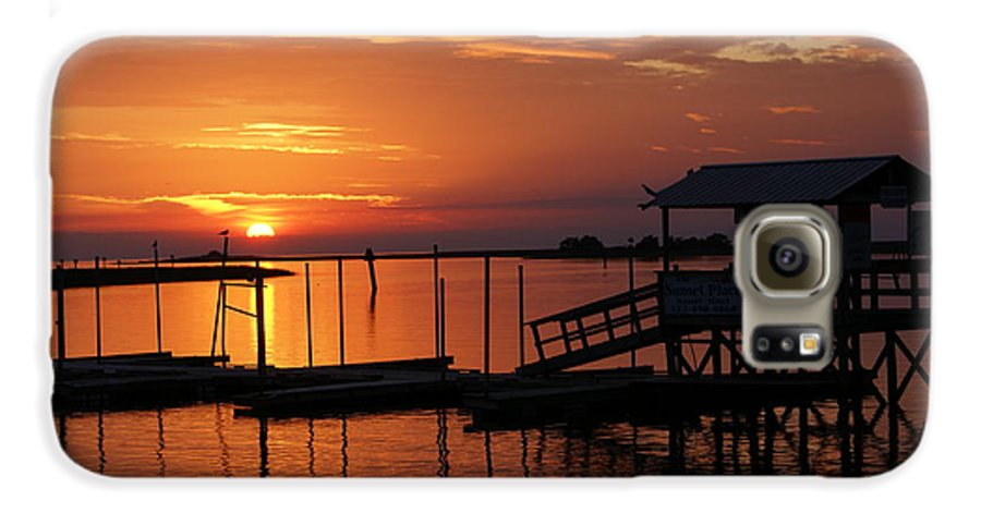 Dock Galaxy S6 Case featuring the photograph Dock Of The Bay by Debbie May