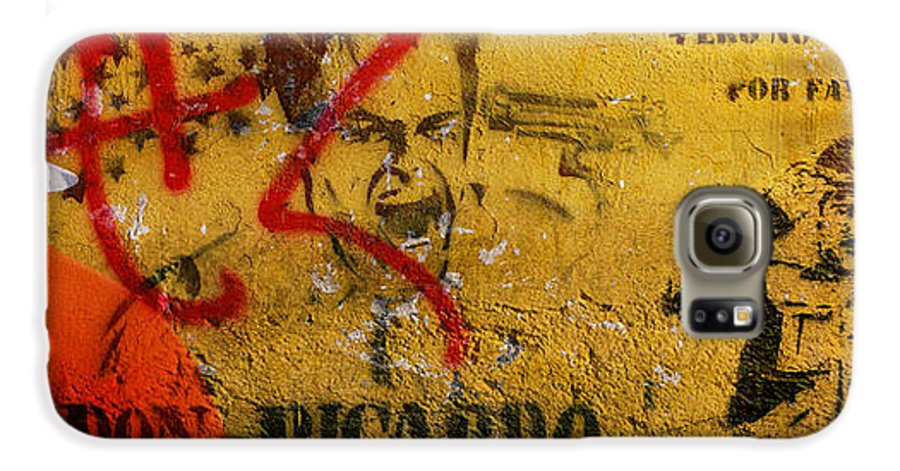 Grafitti Galaxy S6 Case featuring the photograph Don-ricardo by Skip Hunt