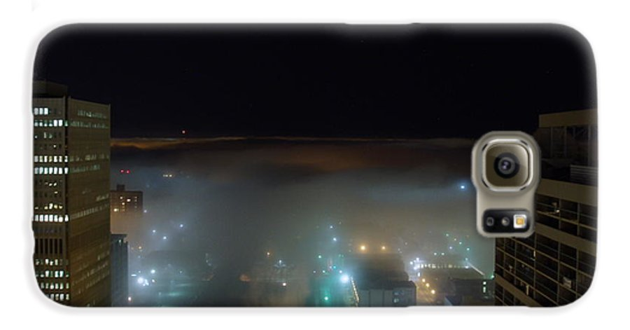 Photograph Galaxy S6 Case featuring the photograph downtown Calgary2 by Seon-Jeong Kim