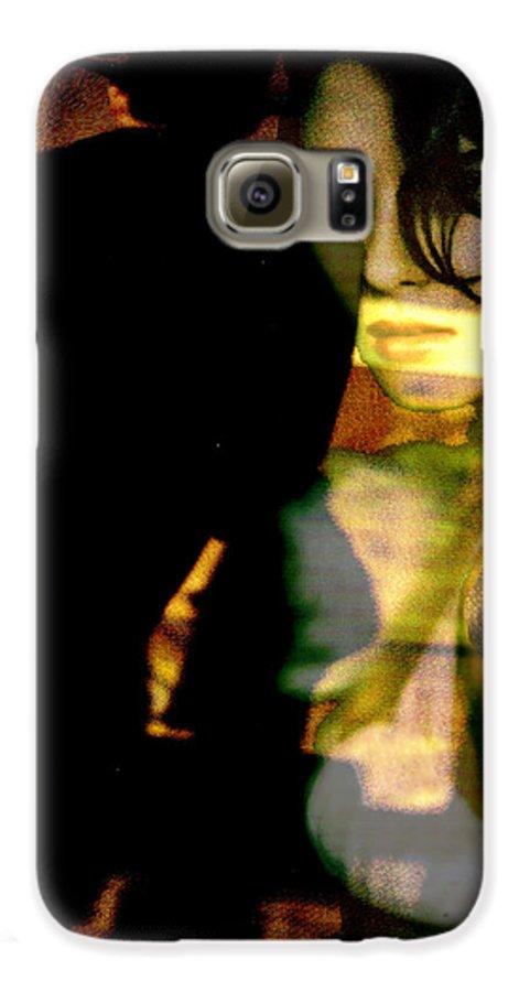 Mystery Galaxy S6 Case featuring the digital art Drama After Dark by Seth Weaver