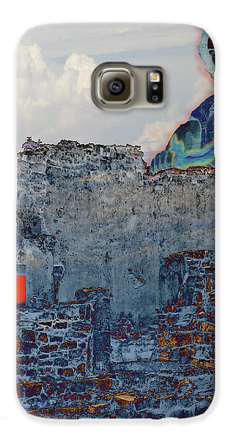 Tulum Ruins Galaxy S6 Case featuring the photograph Dream Of Tulum Ruins by Ann Tracy
