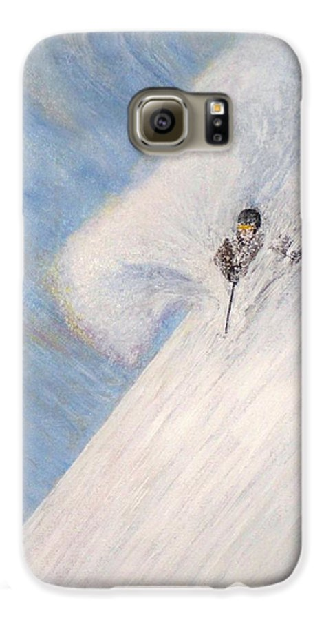 Landscape Galaxy S6 Case featuring the painting Dreamsareal by Michael Cuozzo