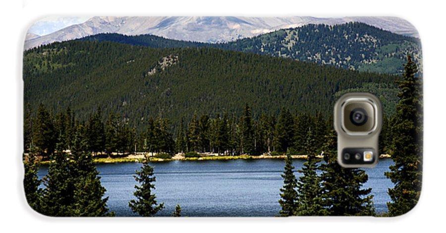 Colorado Galaxy S6 Case featuring the photograph Echo Lake Colorado by Marilyn Hunt