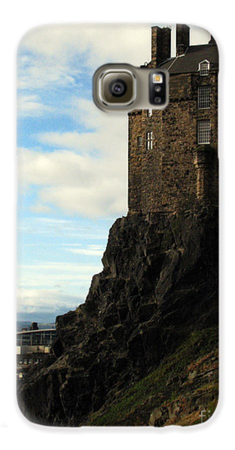 Castle Galaxy S6 Case featuring the photograph Edinburgh Castle by Amanda Barcon