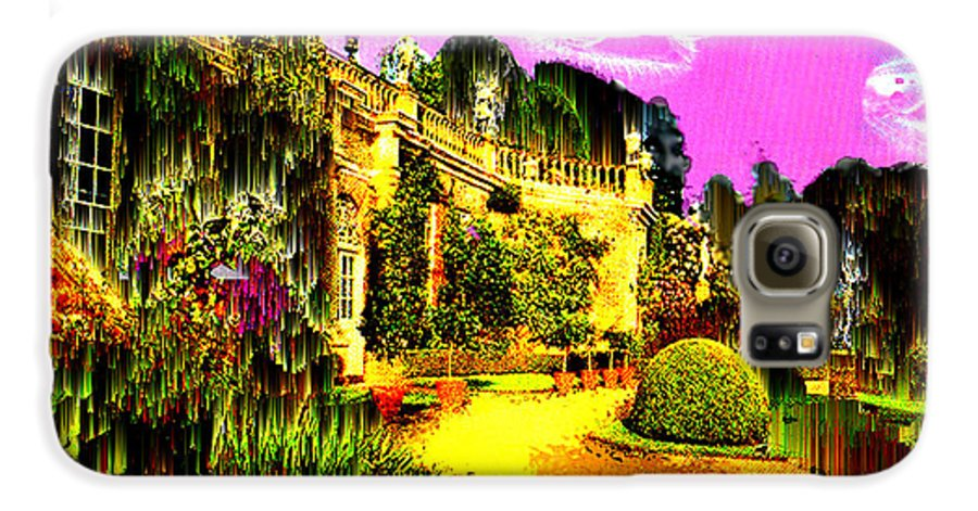 Mansion Galaxy S6 Case featuring the digital art Eerie Estate by Seth Weaver
