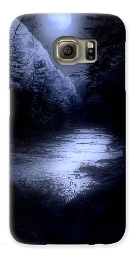Moon Galaxy S6 Case featuring the photograph Eerie Tranquility by Kenneth Krolikowski