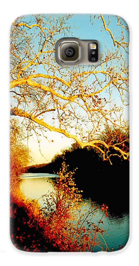 River Galaxy S6 Case featuring the photograph Fall At The Raritan River In New Jersey by Christine Till