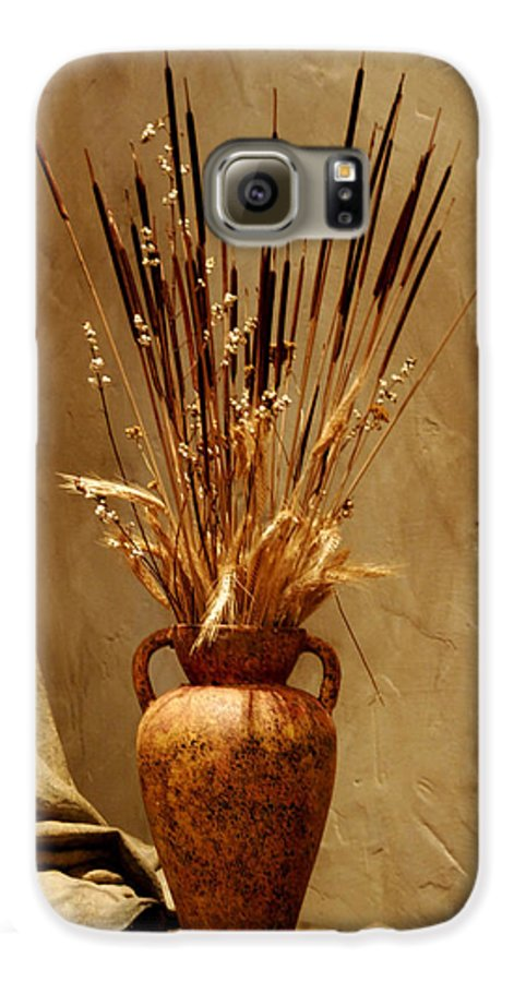 Fall Galaxy S6 Case featuring the photograph Fall In A Vase Still-life by Christine Till