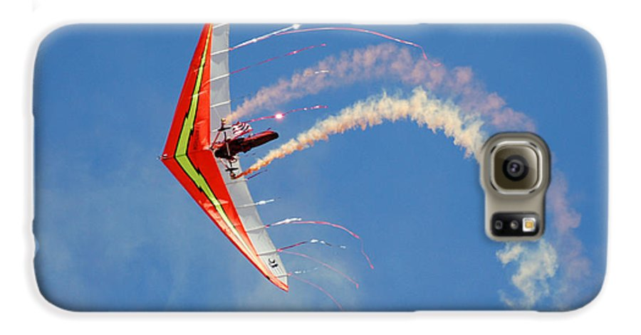 Sky Galaxy S6 Case featuring the photograph Fantasy Flight by Larry Keahey