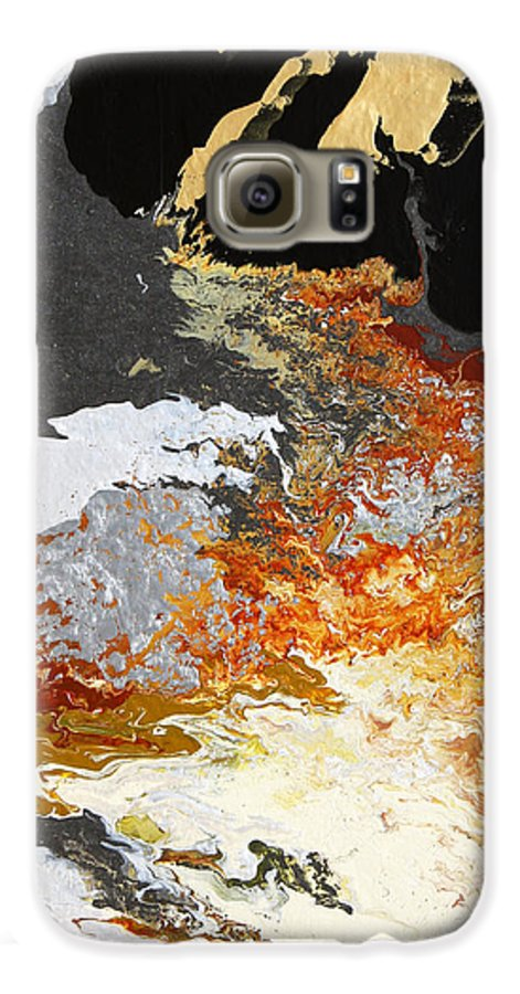Fusionart Galaxy S6 Case featuring the painting Fathom by Ralph White