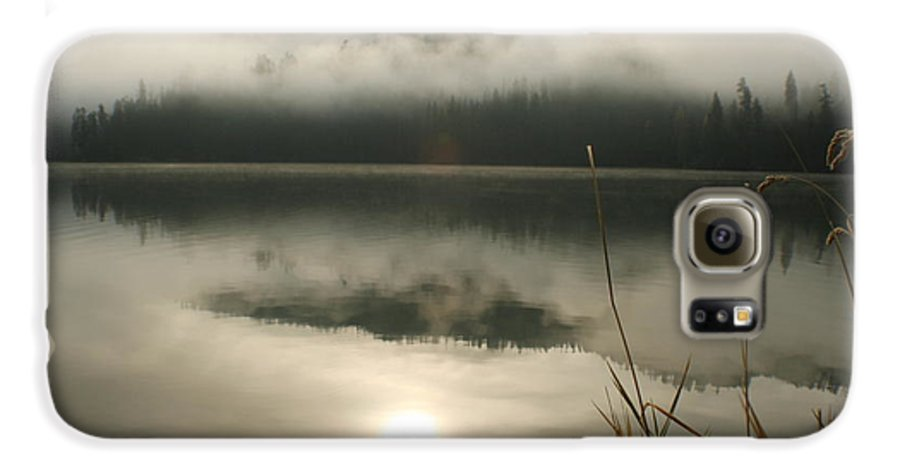 Mist Galaxy S6 Case featuring the photograph Fernan Fog by Idaho Scenic Images Linda Lantzy