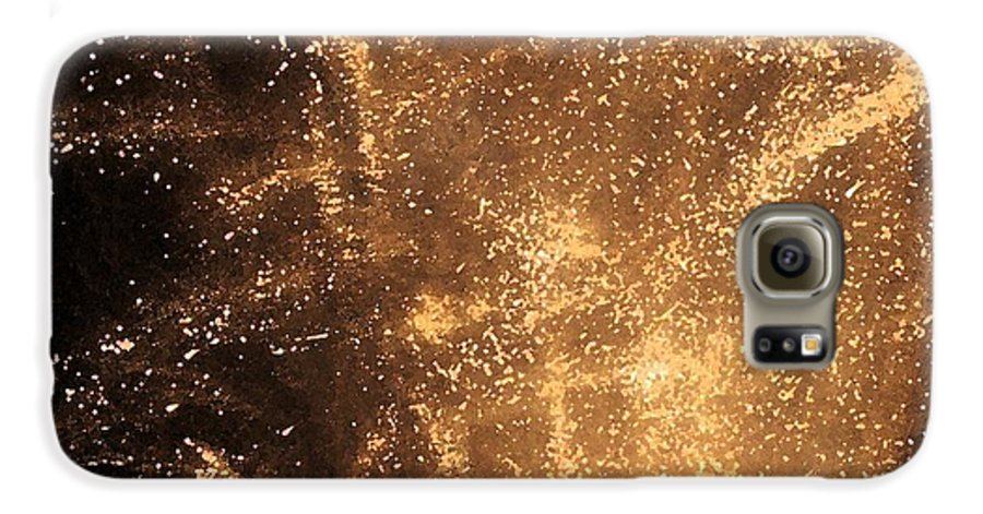 Fireworks Galaxy S6 Case featuring the photograph Fired Up by Debbi Granruth