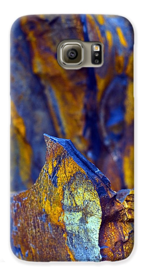Texture Galaxy S6 Case featuring the photograph First Cut Is The Deepest by Skip Hunt