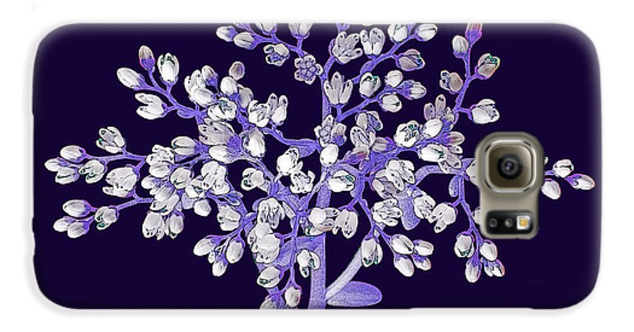 Flower Galaxy S6 Case featuring the photograph Flower Tree by Digital Crafts