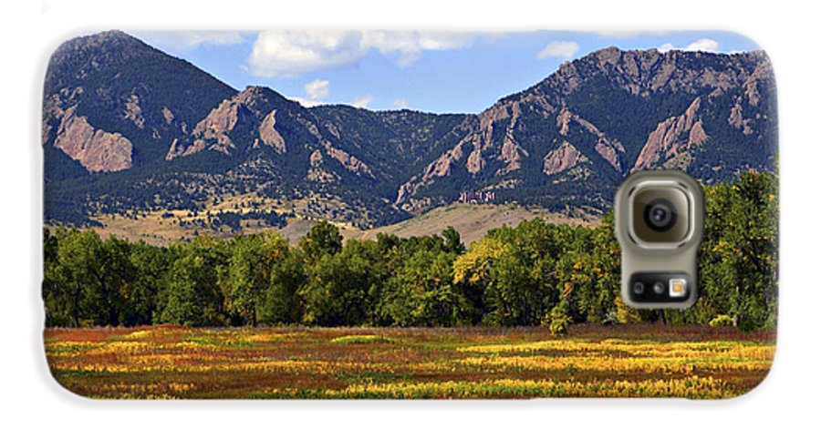 Fall Galaxy S6 Case featuring the photograph Foothills Of Colorado by Marilyn Hunt