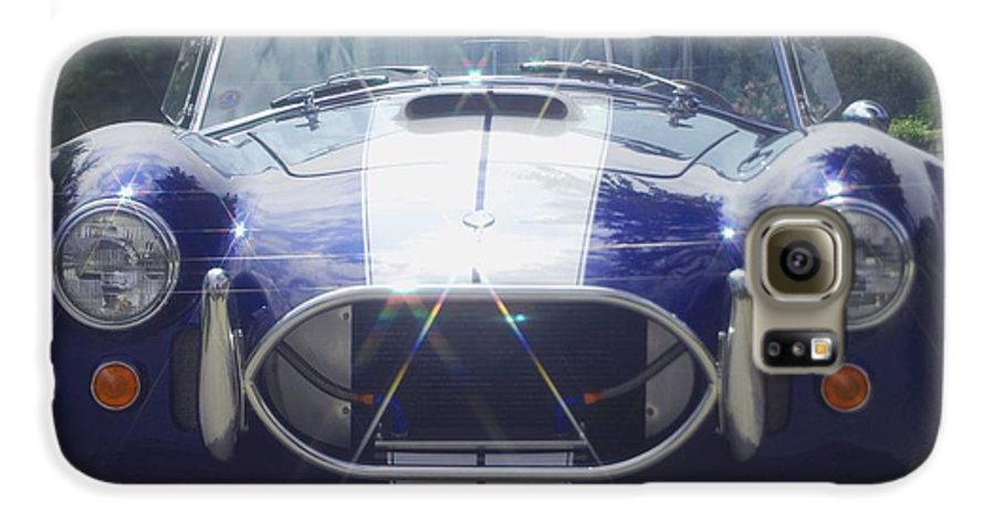 Speed Galaxy S6 Case featuring the photograph Ford Cobra by Margaret Fortunato