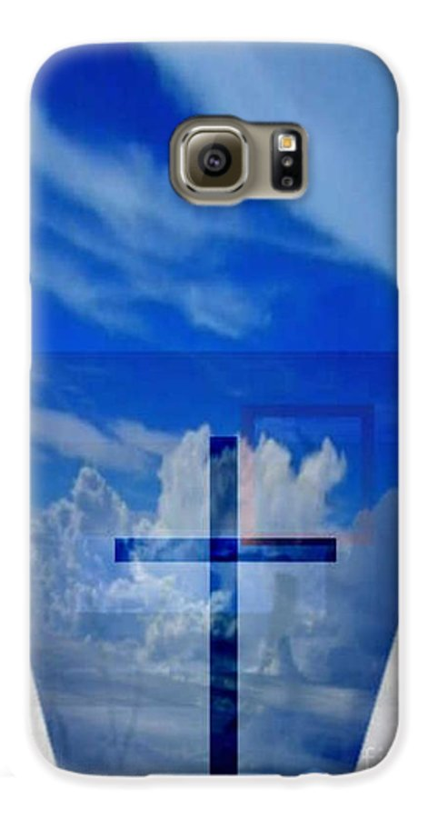 Inspirational Galaxy S6 Case featuring the digital art Forever Settled by Brenda L Spencer
