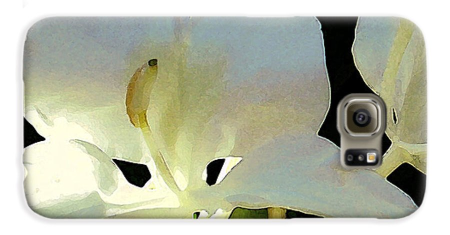 Ginger Galaxy S6 Case featuring the photograph Fragrant White Ginger by James Temple