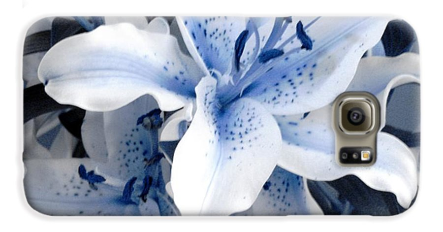 Blue Galaxy S6 Case featuring the photograph Freeze by Shelley Jones