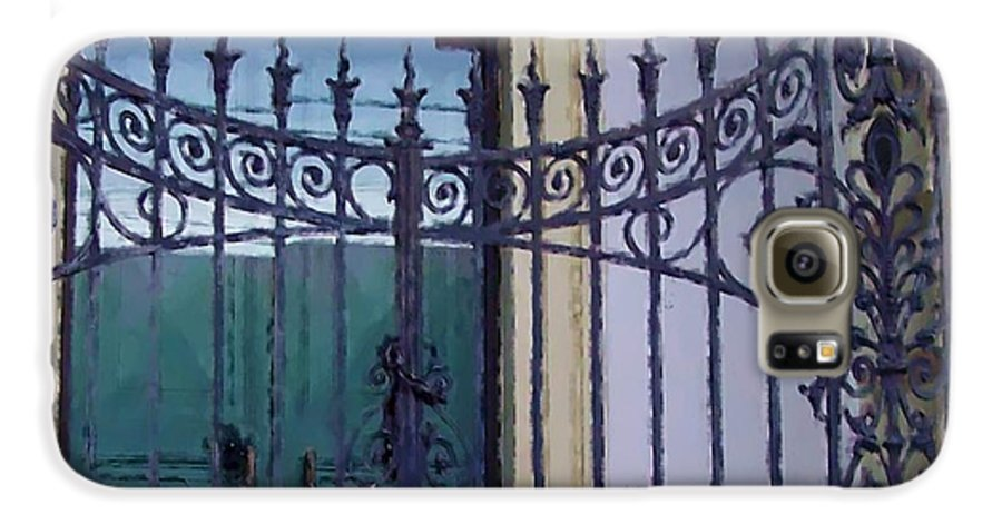 Gate Galaxy S6 Case featuring the photograph Gated by Debbi Granruth