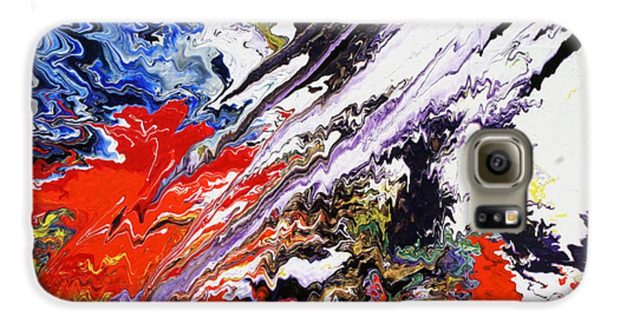 Fusionart Galaxy S6 Case featuring the painting Genesis by Ralph White