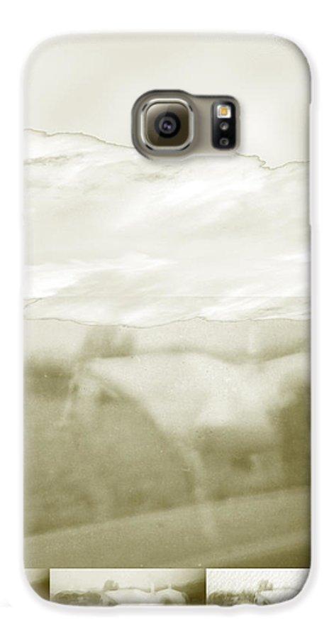 Colorado Galaxy S6 Case featuring the digital art Ghost Horse Colorado by Ann Tracy