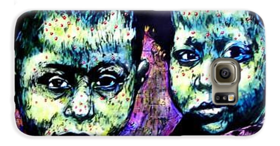 Galaxy S6 Case featuring the mixed media Ghosts Of Prop 87 by Chester Elmore