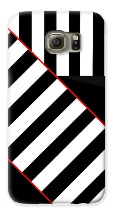 Galaxy S6 Case featuring the digital art Ginza The Babel Legend by Asbjorn Lonvig