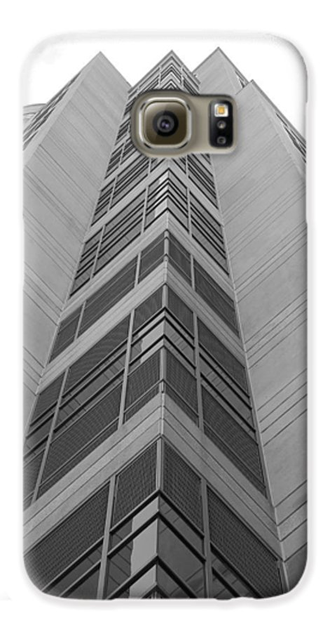 Architecture Galaxy S6 Case featuring the photograph Glass Tower by Rob Hans