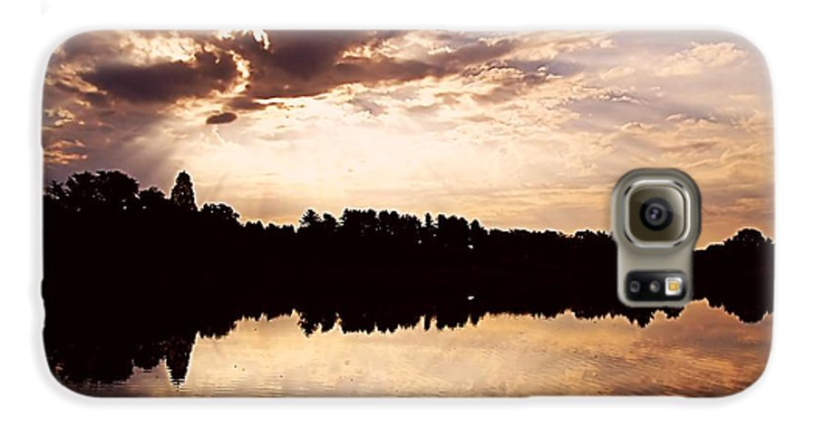Sunrise Galaxy S6 Case featuring the photograph Glorious Moments by Gaby Swanson