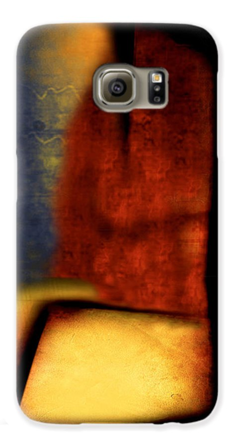 Golf Galaxy S6 Case featuring the painting Golf by Jill English
