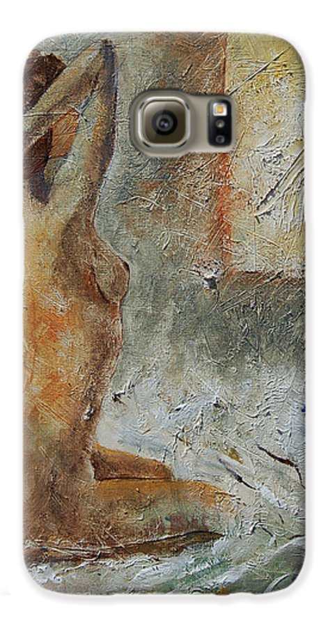 Nude Galaxy S6 Case featuring the painting Good Morning Sunshine by Pol Ledent