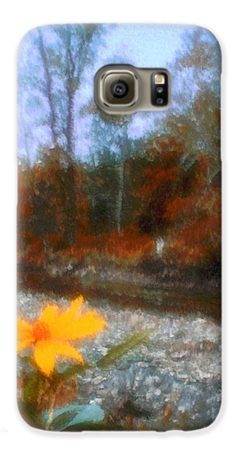 Autumn Galaxy S6 Case featuring the photograph Goodbye Summer by Kenneth Krolikowski