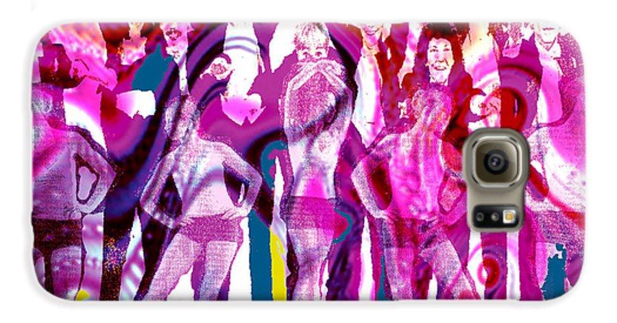 Joy Galaxy S6 Case featuring the digital art Got To Dance by Seth Weaver