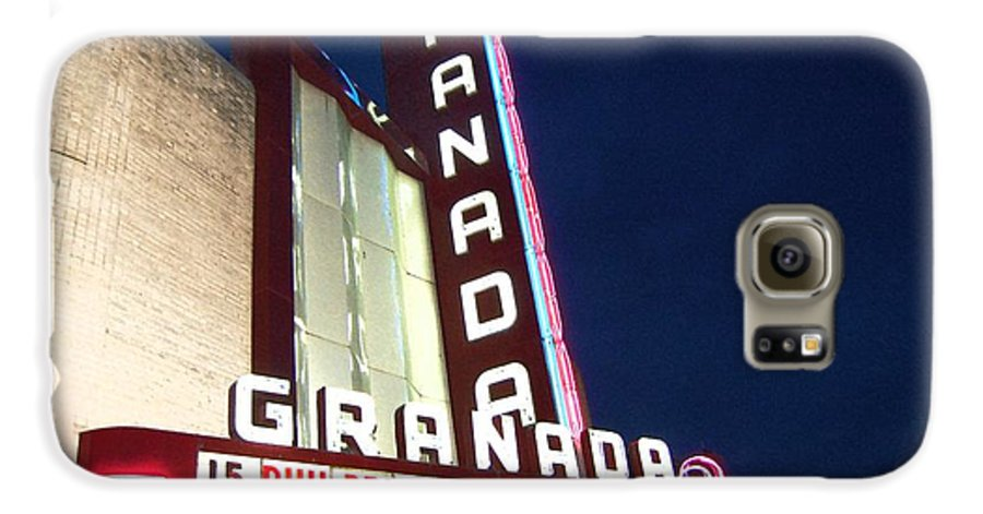 Music Galaxy S6 Case featuring the photograph Granada Theater by Debbi Granruth