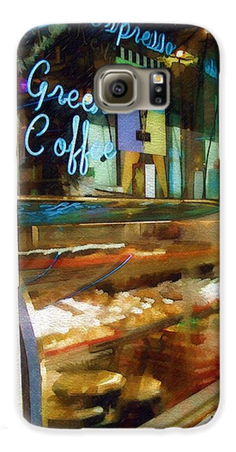 Greek Galaxy S6 Case featuring the photograph Greek Coffee by Sandy MacGowan