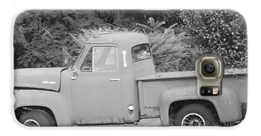 Truck Galaxy S6 Case featuring the photograph Grounded Pickup by Pharris Art